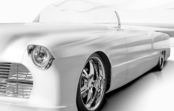 Picture background, Cadillac, classic, the front, Cadillac, 1955