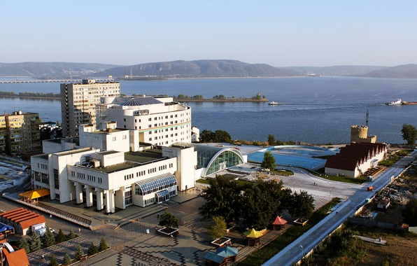 Picture The city, Russia, DK TogliattiAzot, Tolyatti, Komsomol district