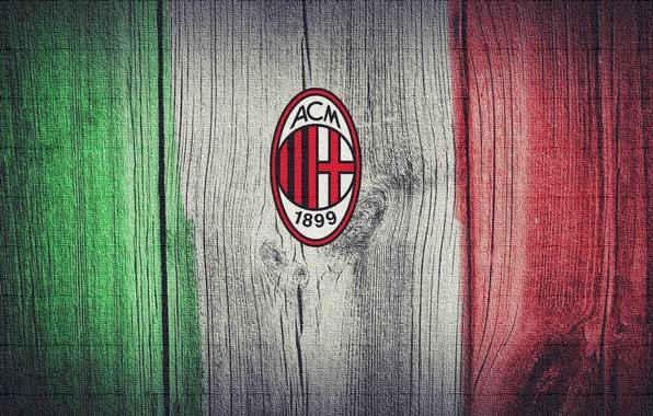 Wallpaper flag, Italy, A.C Milan images for desktop ...