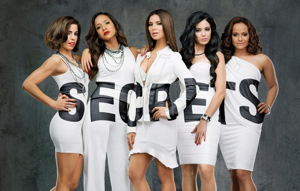Picture background, girls, the series, in white, Devious Maids, SECRETS, Devious maids