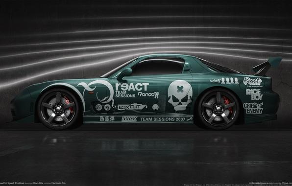 Picture auto, aerodynamics, prostreet, need for speed, pro street