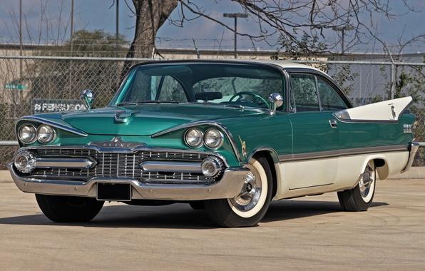 Picture Dodge, the front, 1959, ROYAL, DODGE, D-500, LANCER, HARDTOP, 2 DOOR