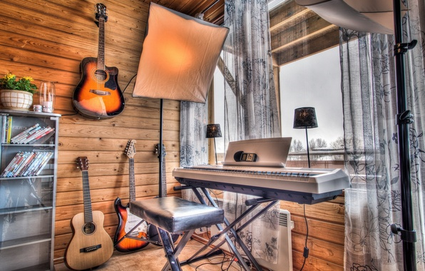Picture music, background, guitar, instrumento