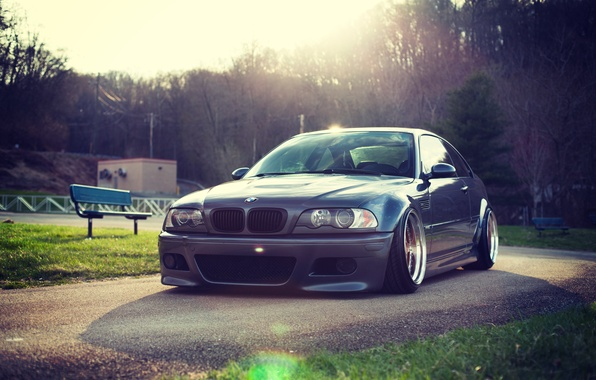 Picture BMW, BMW, E46, 3 series, Stance