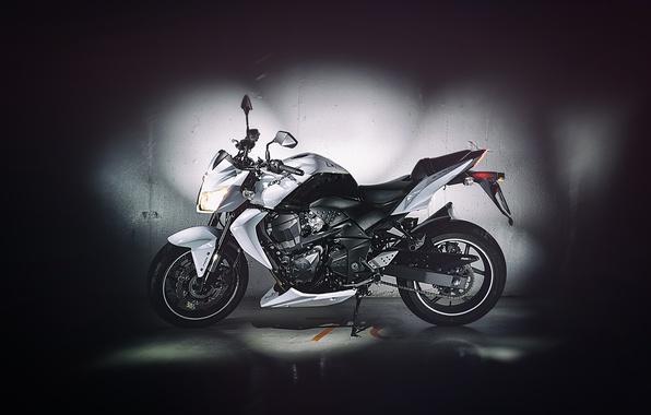 Picture Kawasaki, Side, Garage, Flash, Motocycle, Exposure, Z750
