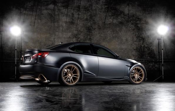 Picture black, Lexus, IS-F