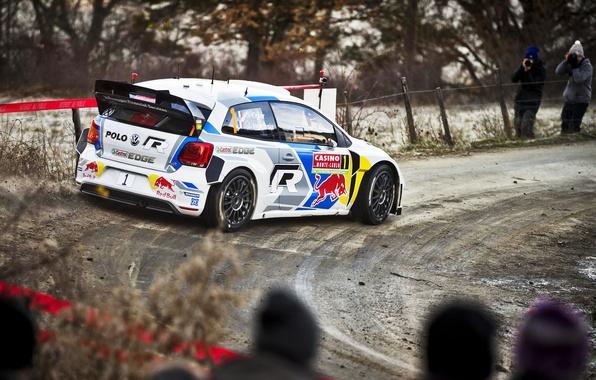 Picture Auto, Volkswagen, Speed, Turn, WRC, Rally, Polo, Polo, Sebastien Ogier