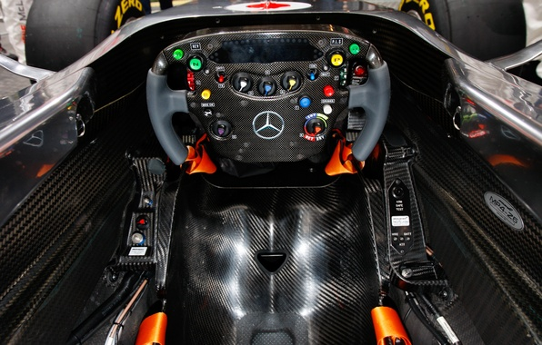 Picture the wheel, formula 1, mercedes, the car, formula 1, mclaren