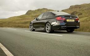 Picture road, auto, photo, cars, auto, wallper, Wallpaper HD, Sedan, blac, Bmw m5, wallpapers auto, F10 …