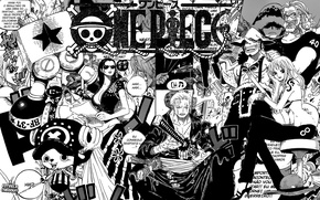Picture style, background, Wallpaper, black and white, art, manga, comics, characters