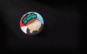 Wallpaper minimalism, agitation, elections, Cartman, South Park