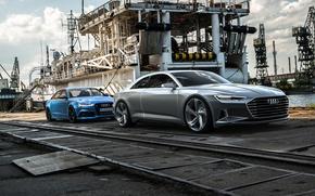 Picture concept, Audi a9, Sebastian Ladan, Audi c7, Audi rs6