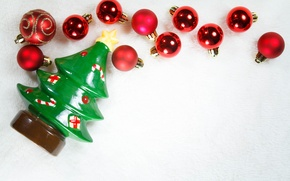 Picture decoration, balls, tree, Christmas, New year, Christmas, decoration, xmas, Merry