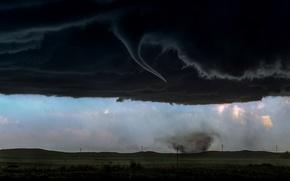 Picture clouds, rain, storm