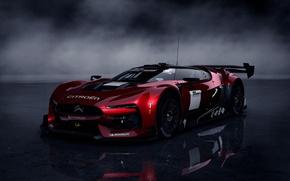 Picture supercar, Car, the dark background, Citroen Survolt