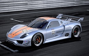 Picture machine, Concept, Wallpaper, Porsche, the concept, Porsche, 918, RSR