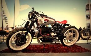 Picture bmw, motorcycle, cafe racer, xt500