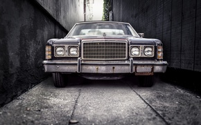 Picture retro, lights, grille, old, ford, Ford, bumper, retro, old, stuff