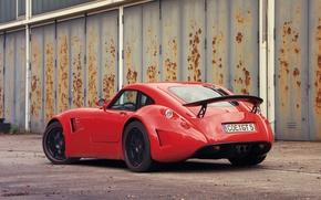Picture Red, Car, Wiesmann GT MF5