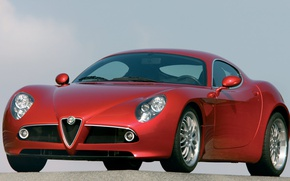 Picture coupe, Alfa Romeo, 8C