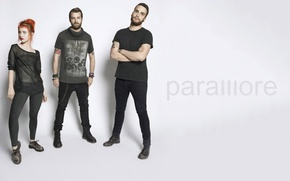 Picture photo, grey, background, group, rock, photo, promo, Hayley Williams, Paramore, promo, alternative rock, gray, Taylor, …