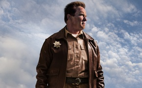 Picture Arnold Schwarzenegger, Arnold Schwarzenegger, Return of the hero, The Last Stand, Sheriff Ray Owens