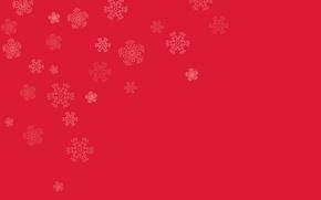 Wallpaper color, texture, pattern, paint, snowflakes