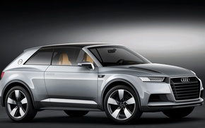 Picture Concept, Audi, Allroad Shooting Brake