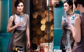 Picture Keira Knightley, Keira Knightley, photoshoot, brand, mineral water, Voeslauer
