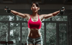 Picture fitness, gym, female, workout