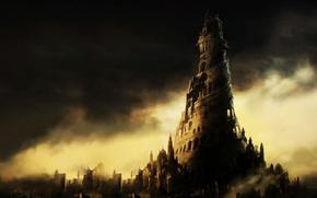 Picture city, fantasy, castle