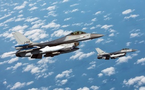 Picture Fighting Falcon, F-16AM, Netherlands Air Force