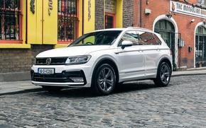 Wallpaper wallpapers, Volkswagen, Volkswagen, white, Tiguan, Tiguan, car, auto, R-Line
