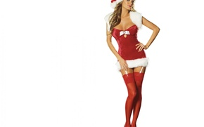 Picture hat, stockings, New year