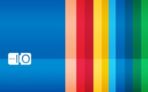 Picture blue, strip, background, the inscription, Google, brightness