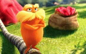 Wallpaper the lorax, the lorax, cartoon, Danny DeVito