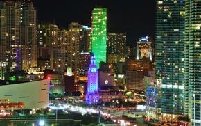 Picture city, the city, FL, USA, USA, Miami, Florida, Miami