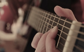 Picture music, guitar, hands
