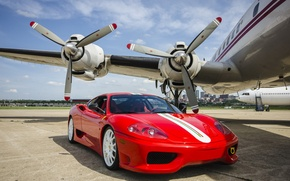 Picture Ferrari, 360, The, Connie, Road, Challenge, With