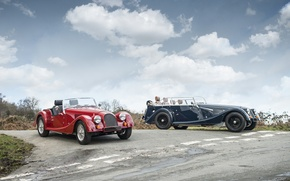 Picture Red, Green, Morgan, Sports Cars, More 4, Morgan Sports Cars, 4 Seater
