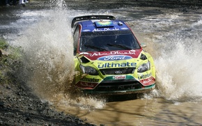 Picture 2010, ford, rally, water, wrc, focus