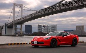 Picture Corvette, Chevrolet, Chevrolet, Coupe, Corvette, Stingray, JP-spec, 2014, Stingray