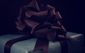 Picture gift, tape, bow, bow