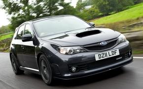 Picture England, Road, Subaru, Impreza, Japan, Grey, Japan, sports car, Car, Auto, Subaru, Impreza, Wallpapers, STi, …