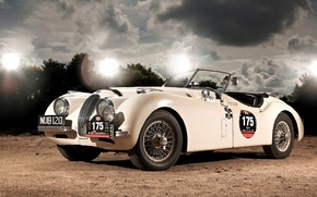 Picture Roadster, Jaguar, XK120