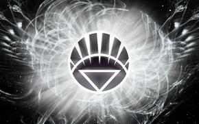 Picture logo, comics, lantern, DC Comics, White Lantern