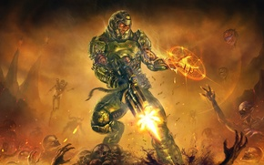 Picture The game, Game, Bethesda, Doom