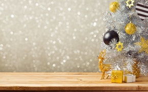 Picture decoration, balls, New Year, Christmas, gifts, Christmas, balls, decoration, Merry