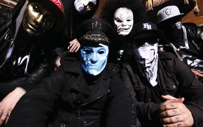 Picture music, music, rapcore, alternative, Hollywood undead