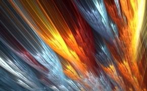 Picture line, color, blur